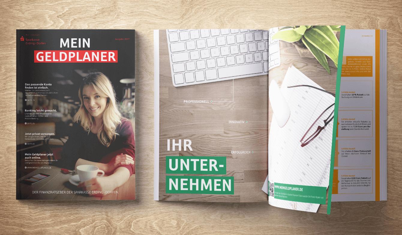Kundenmagazin Geldplaner der Sparkasse Erding-Dorfen - Ausgabe März 2017