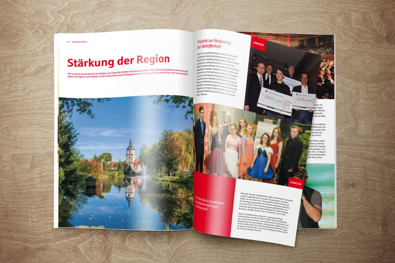 Jahresbericht Klassik, Sparkasse Altmark West