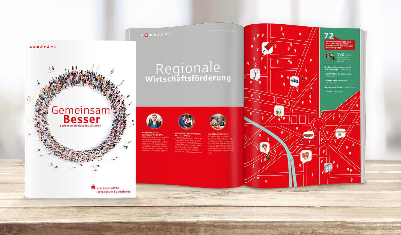 Bericht an die Gesellschaft - Kreissparkasse Herzogtum Lauenburg