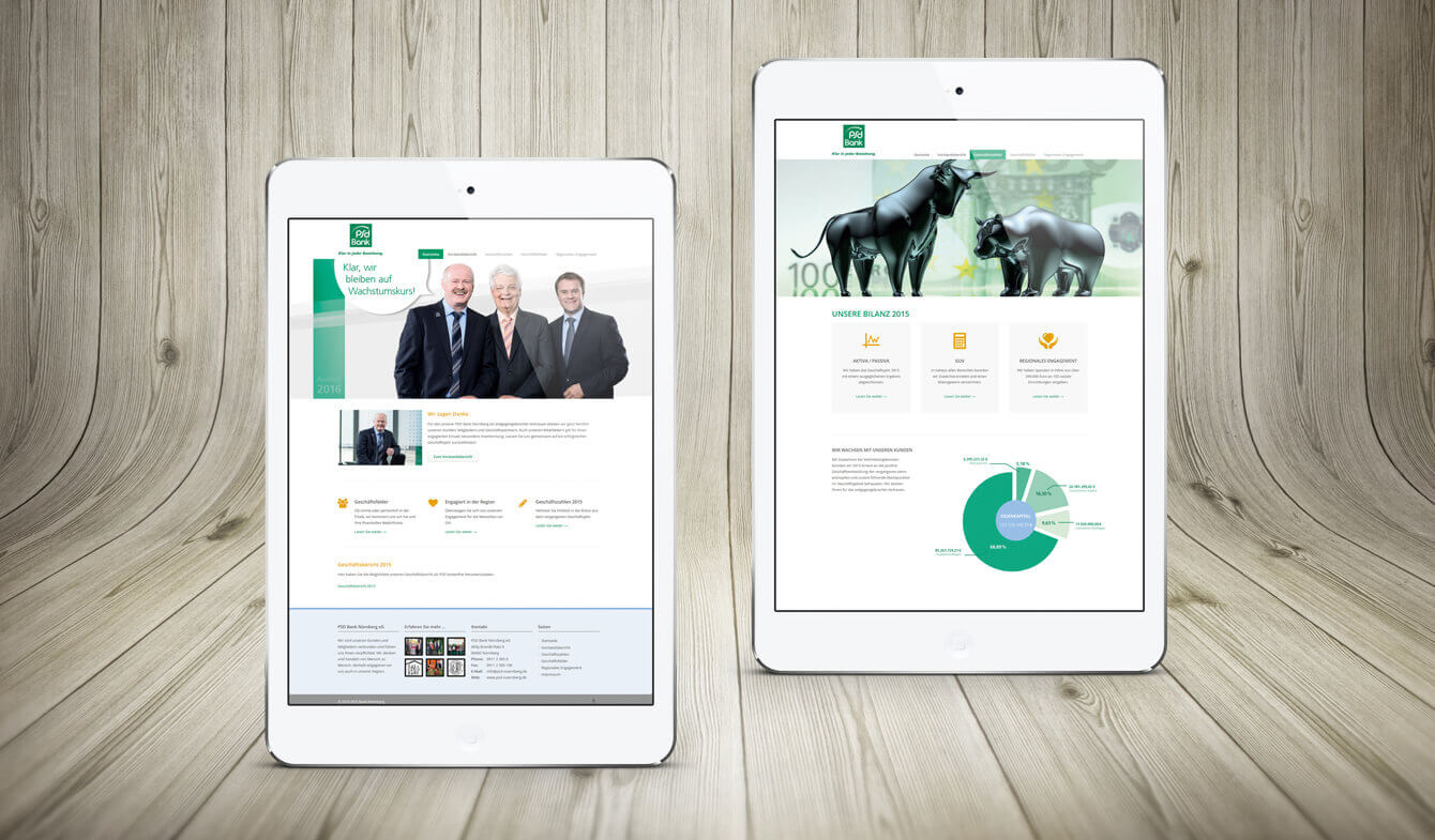 Online-Jahresbericht PSD Bank