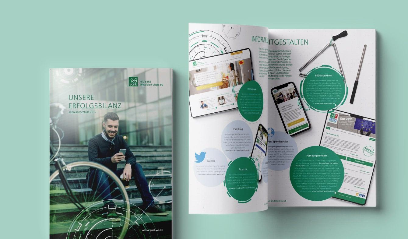 Jahresbericht, PSD Bank Westfalen-Lippe