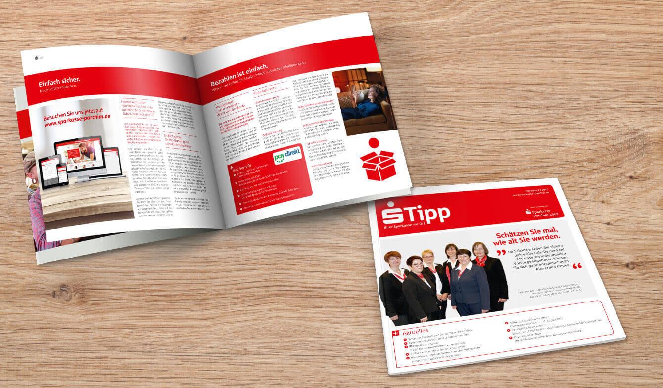 Kundenmagazin s-Tipp: Emotionale Bindung Ihrer Kunden