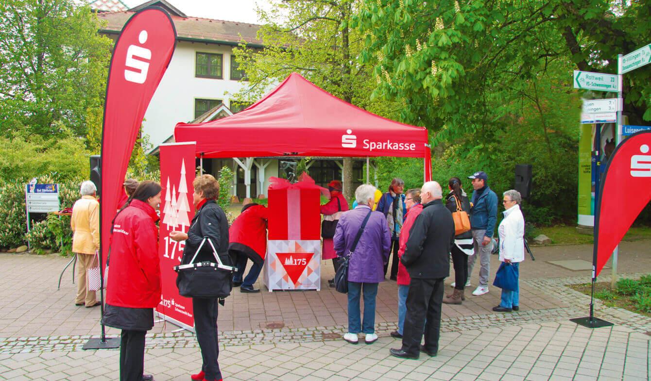 Sparkasse Schwarzwald-Baar: Tastbox