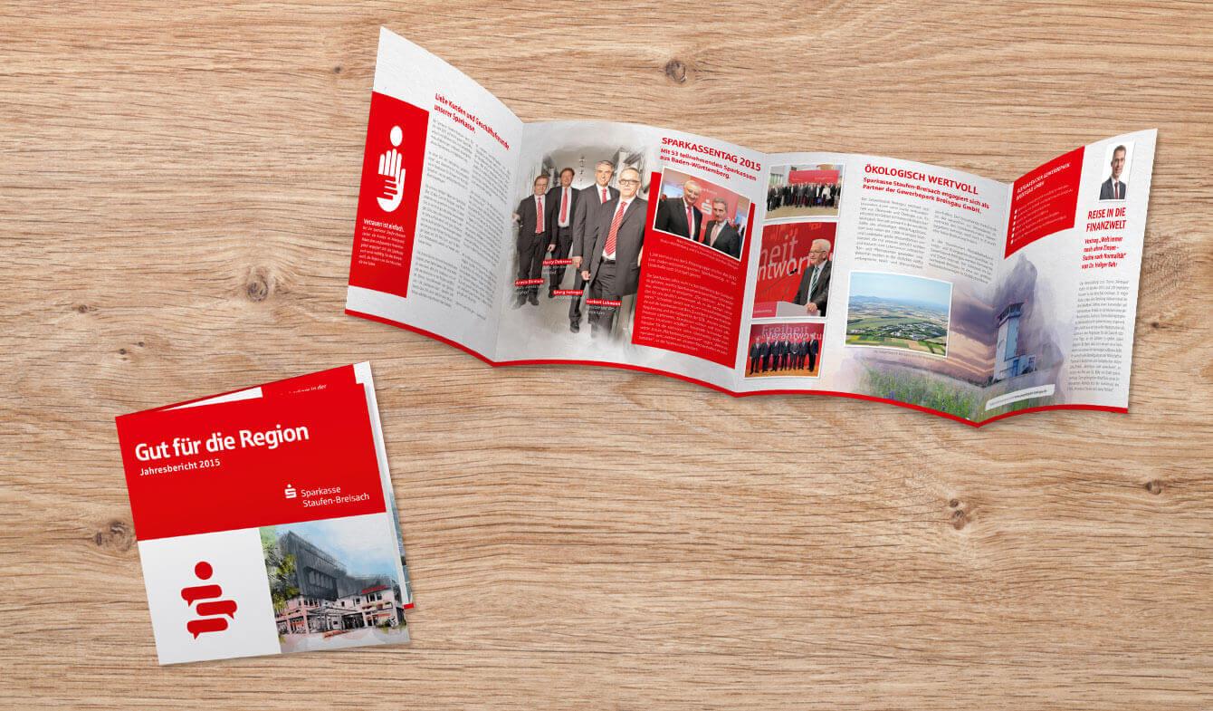Express-Jahresbericht der Sparkassse