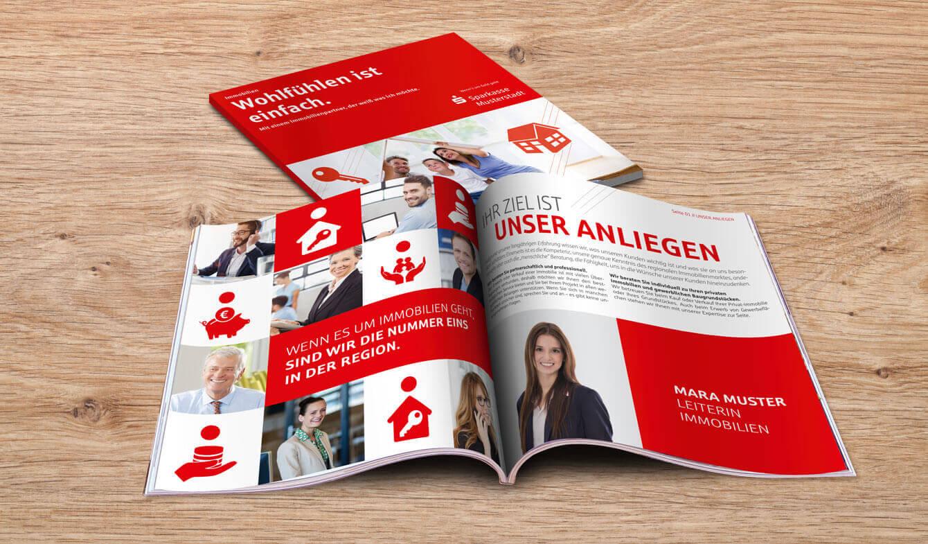 Sparkassen Immobilien-Broschüre