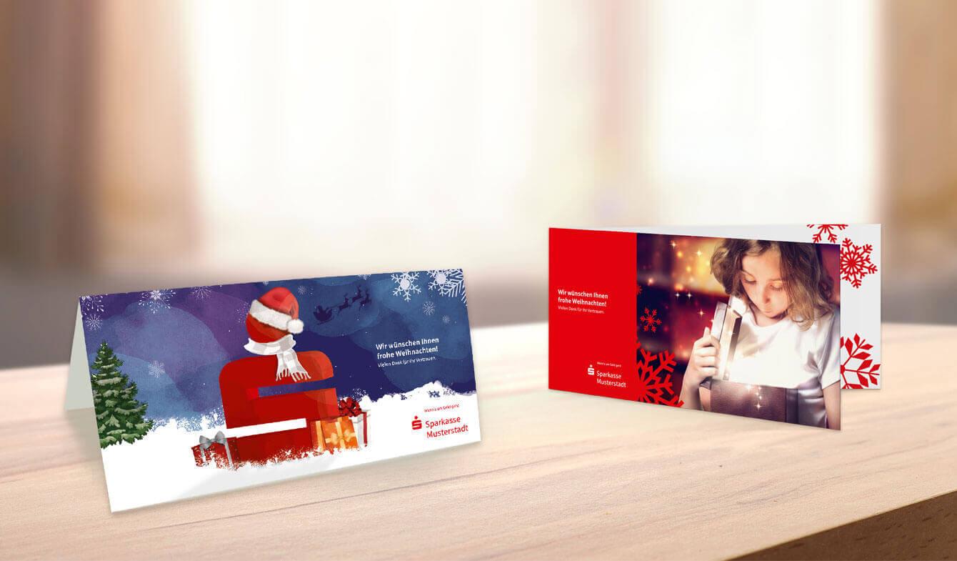 Weihnachtsgrußkarten: Alle Jahre wieder
