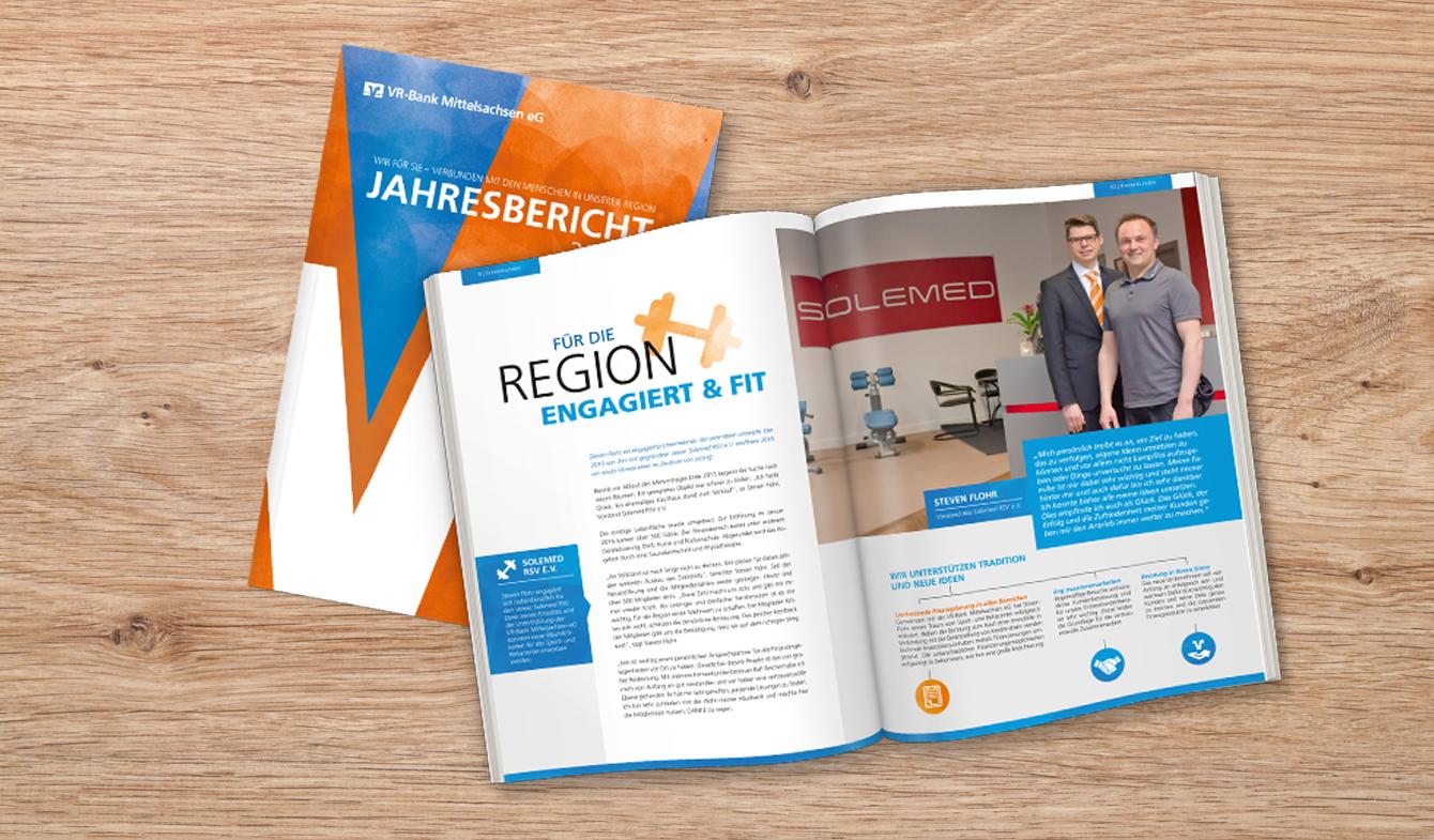 VR-Bank Mittelsachsen Jahresbericht