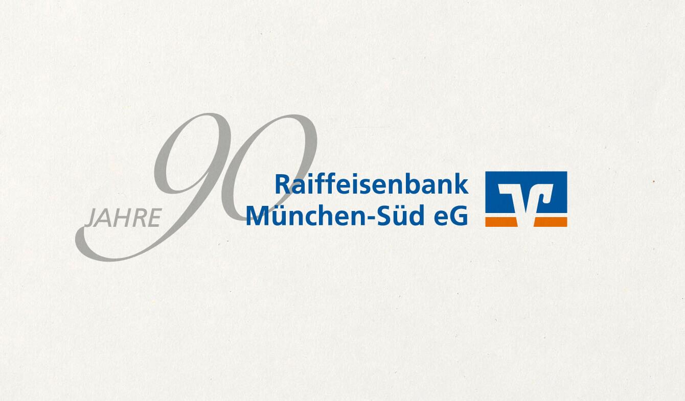 Jubiläumsdesign, VR Bank München Süd