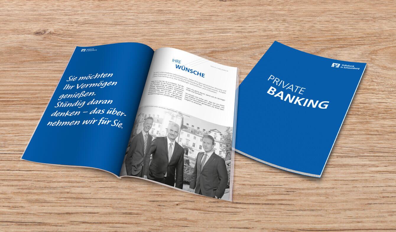 Genossenschafts Private Banking Broschüre