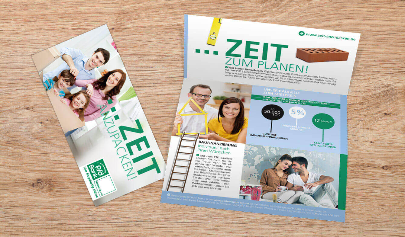 Kampagne Baufinanzierung: PSD Bank Westfalen-Lippe