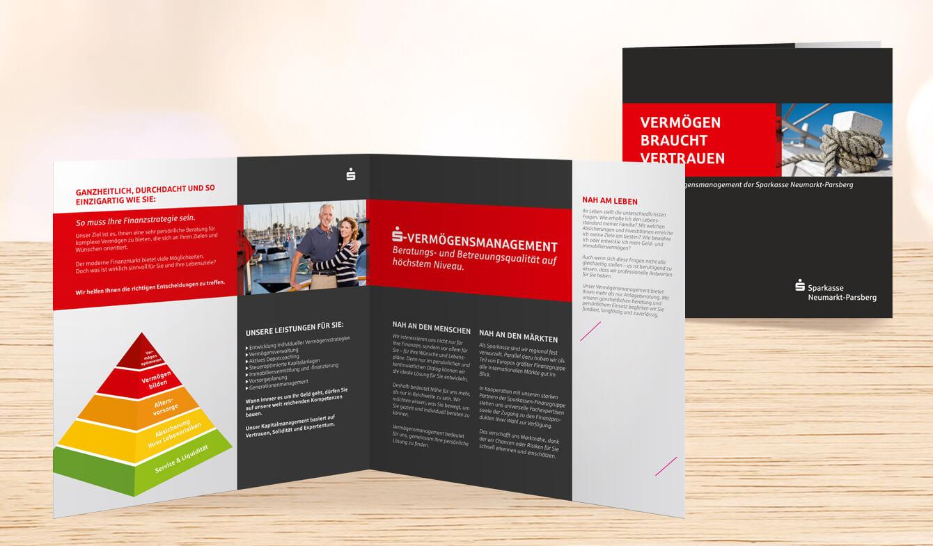 Broschüre Vermögensmanagement: Sparkasse Neumarkt-Parsberg