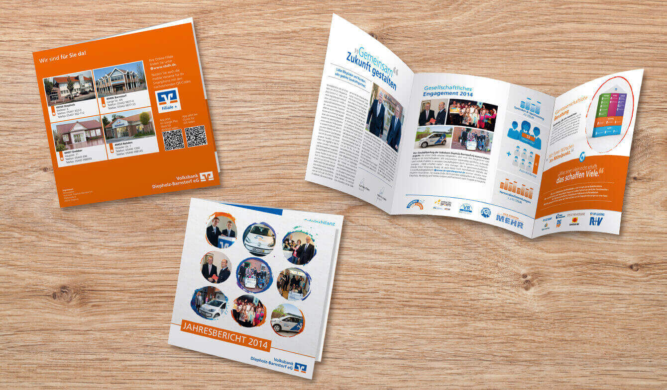 Volksbank Diepholz-Barnstorf eG - Jahresbericht 2014 Express