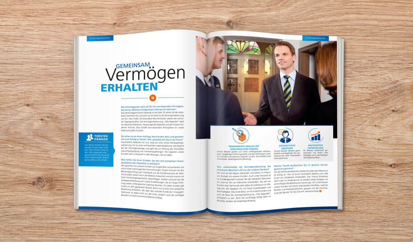 Volksbank Weinheim eG - Jahresbericht Premium 2014
