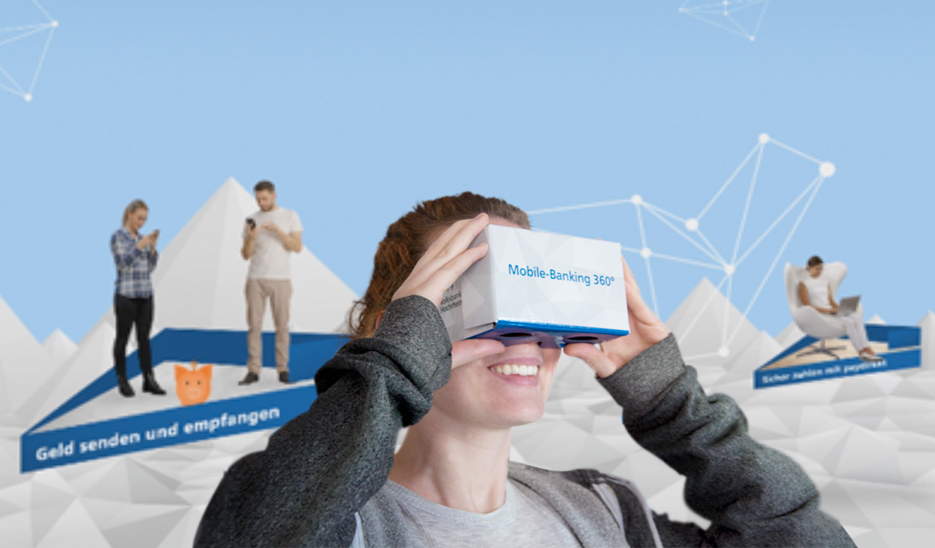 Virtual Reality-Mailing der Volksbank Hochrhein eG