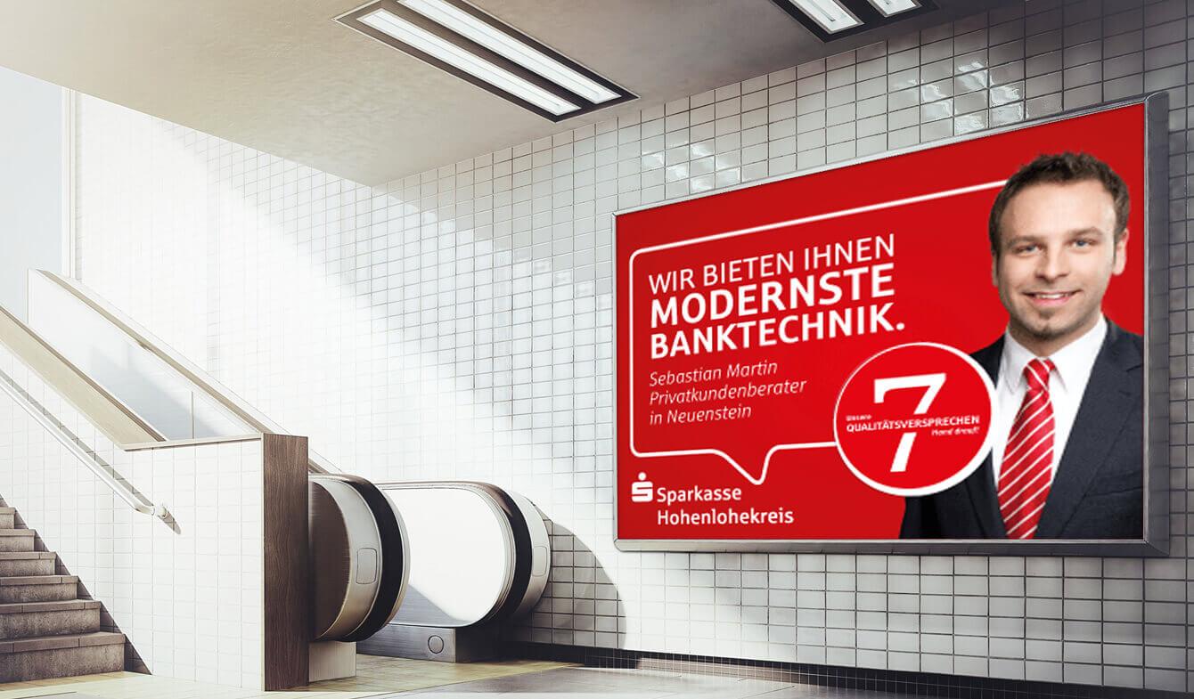 SPK Hohenlohekreis Großplakate