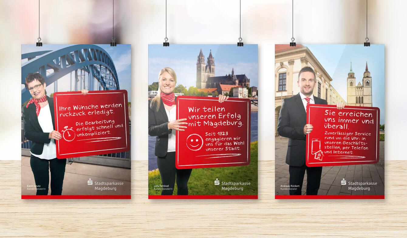 SSPK Magdeburg Plakat POS