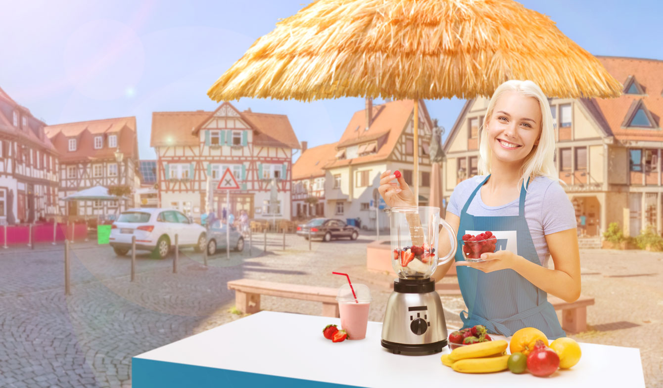 Smoothie-Promo Sommer