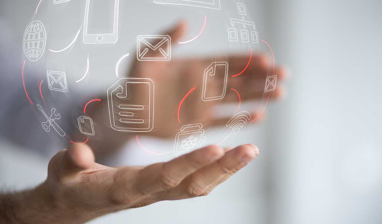 digitalisierten Bank