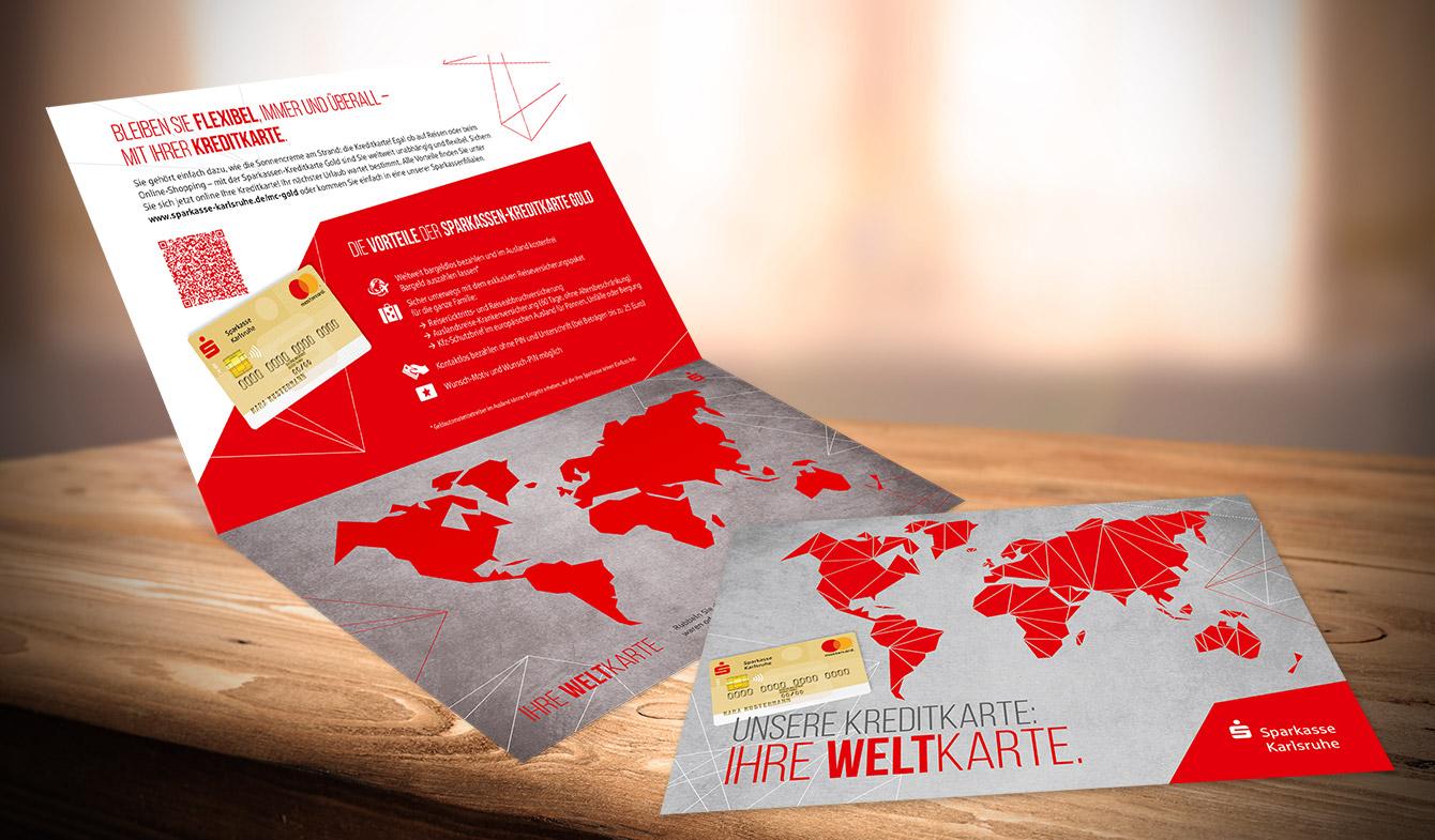 Sparkasse Karlsruhe - Kreditkarten-Mailing