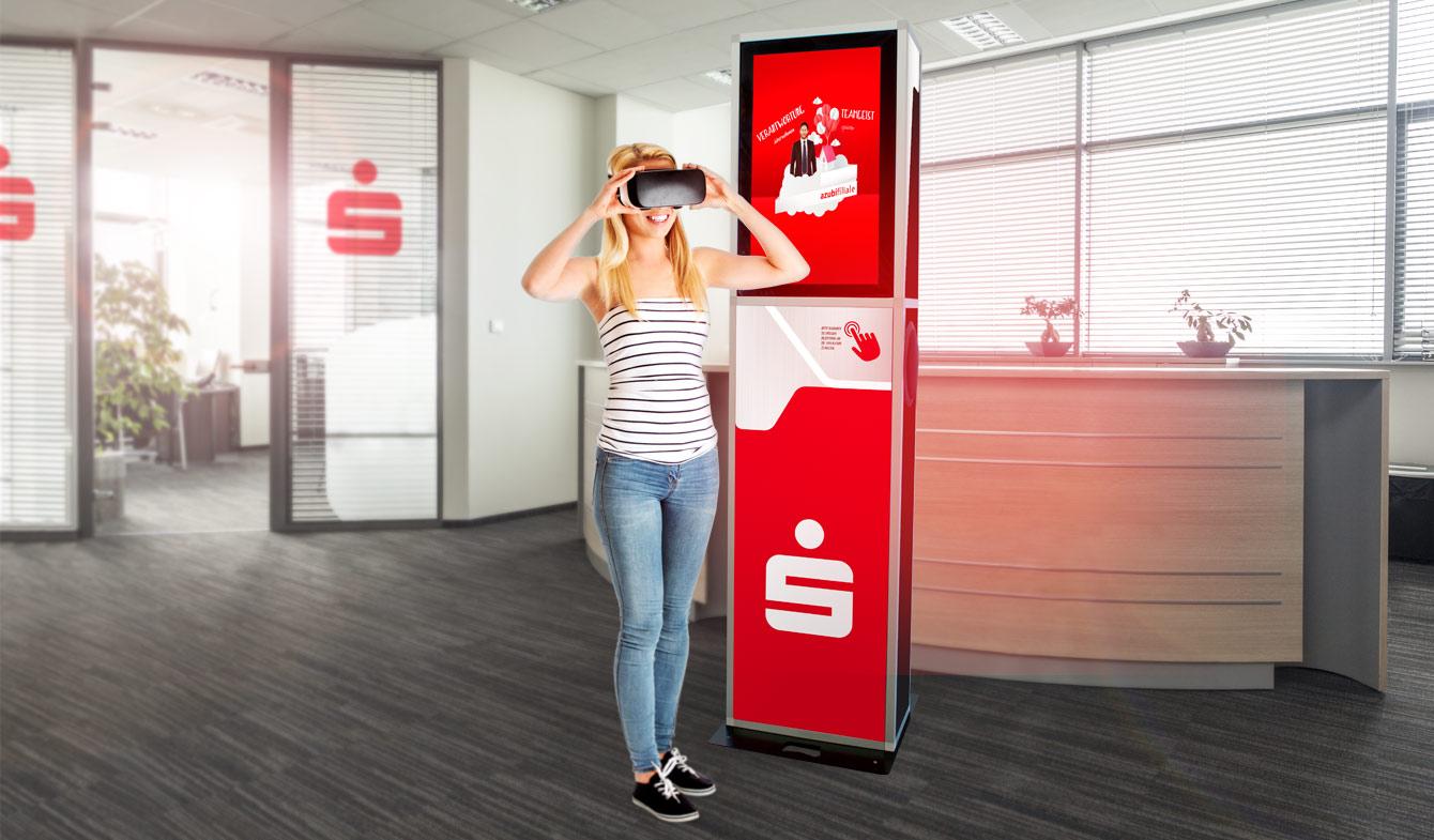 Virtual Reality für junge Kunden