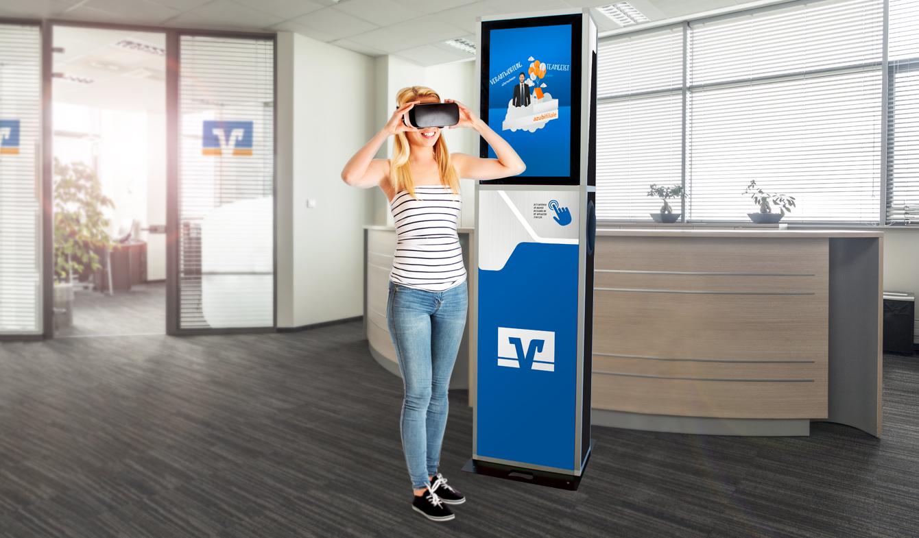 Virtual Reality Content für junge Auszubildende