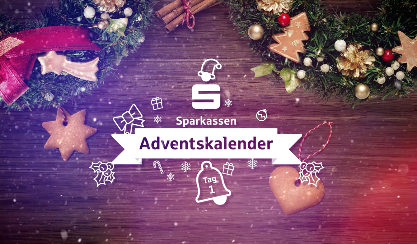 Video Adventskalender für Sparkassen
