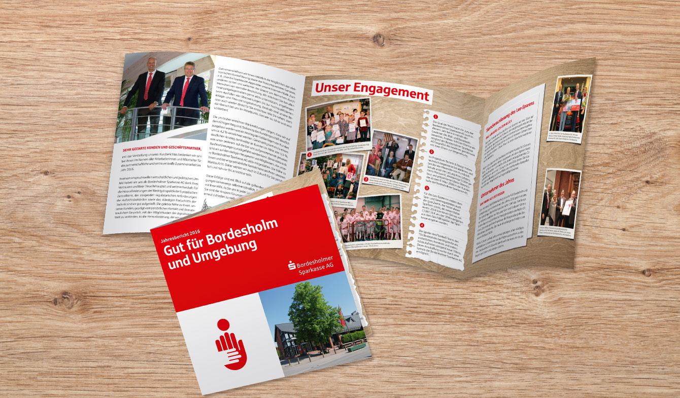 Express Jahresbericht Bordesholmer Sparkasse