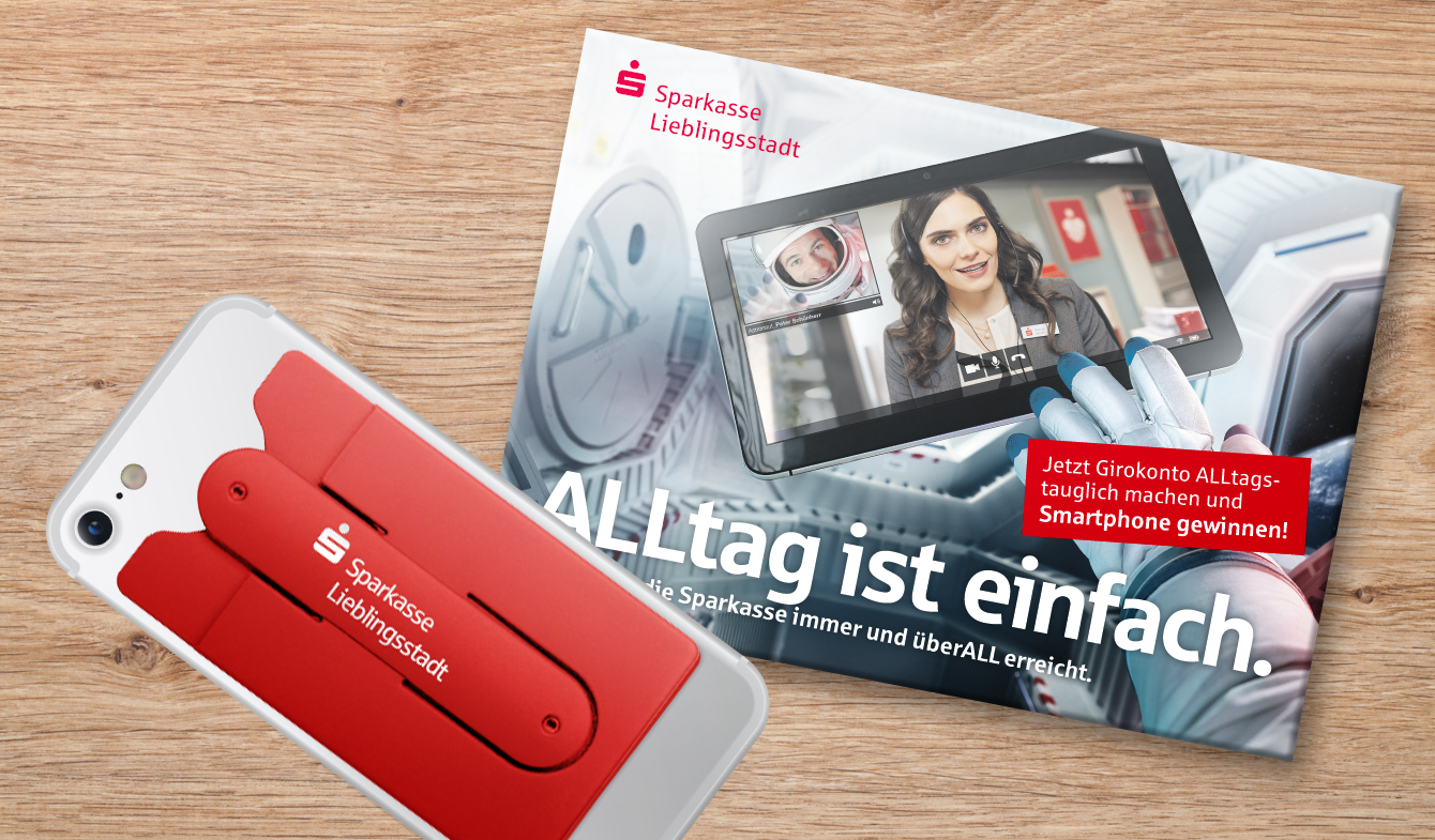 Mailing Multikanal mit Give Away
