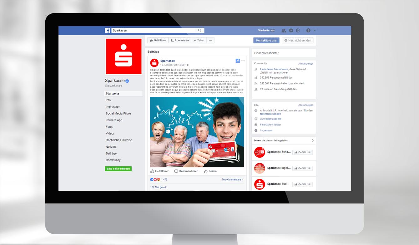 Online-Anzeigenpaket für Facebook