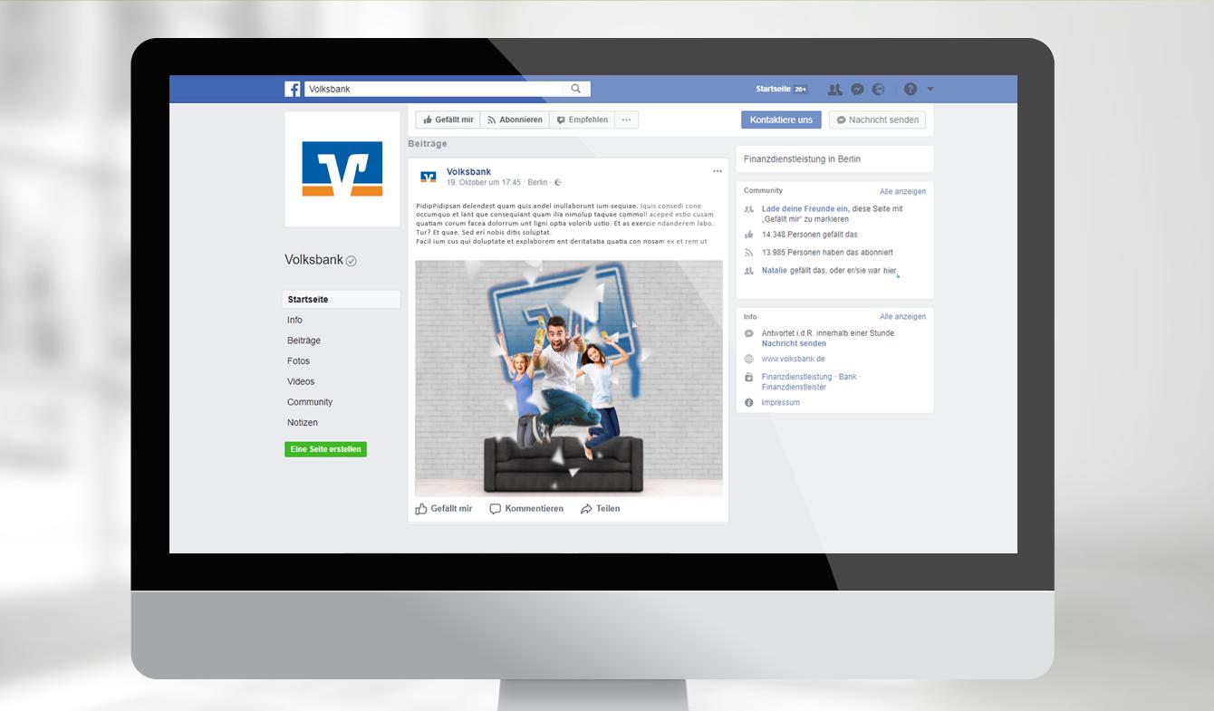 Online-Anzeigepaket für Facebook