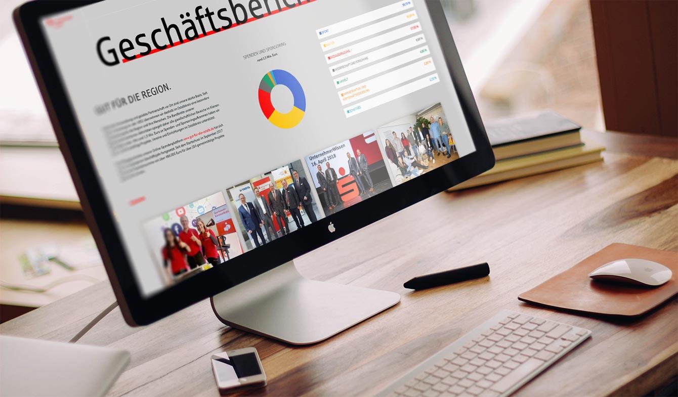 Kreissparkasse Ostalb Online-Jahresbericht