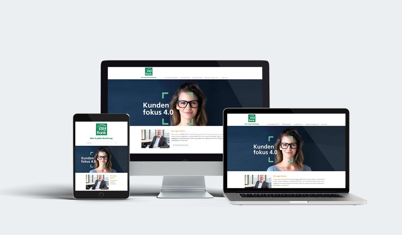 PSD-Bank Nürnberg Online-Jahresbericht