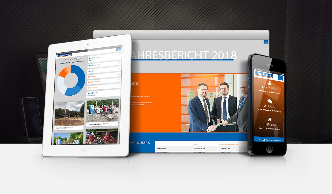 Sparda-Bank Hannover Online-Jahresbericht 2018