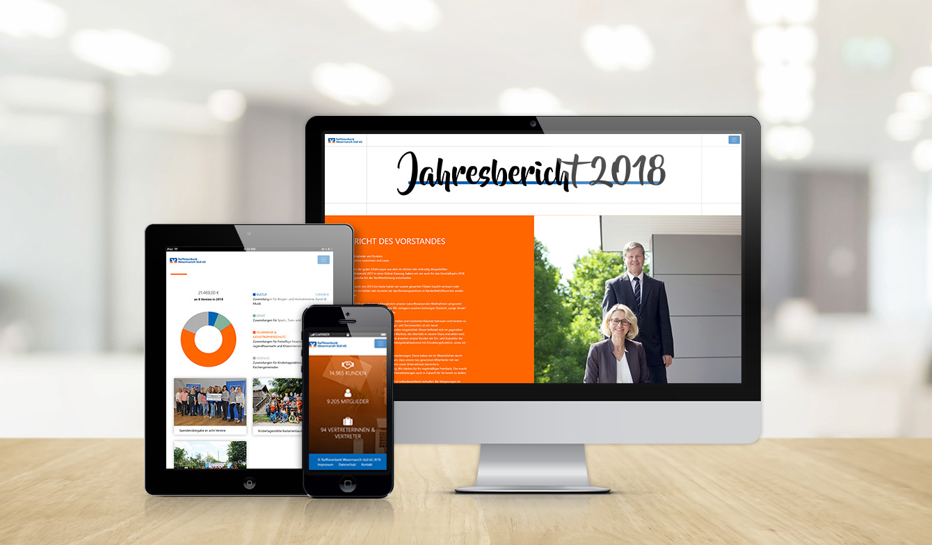Raiffeisenbank Wesermarsch-Süd - Online-Jahresbericht 2018