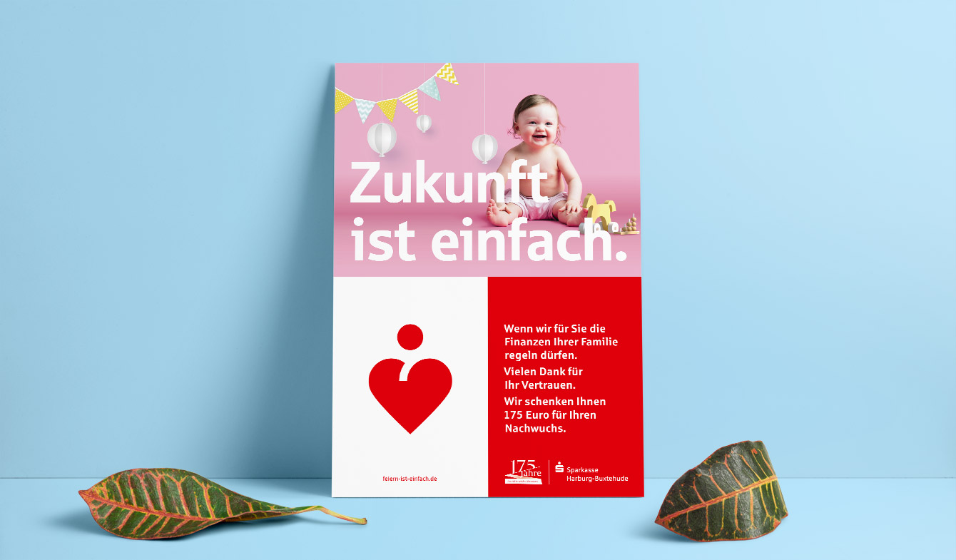 Sparkasse Harburg-Buxtehude Plakatkampagne
