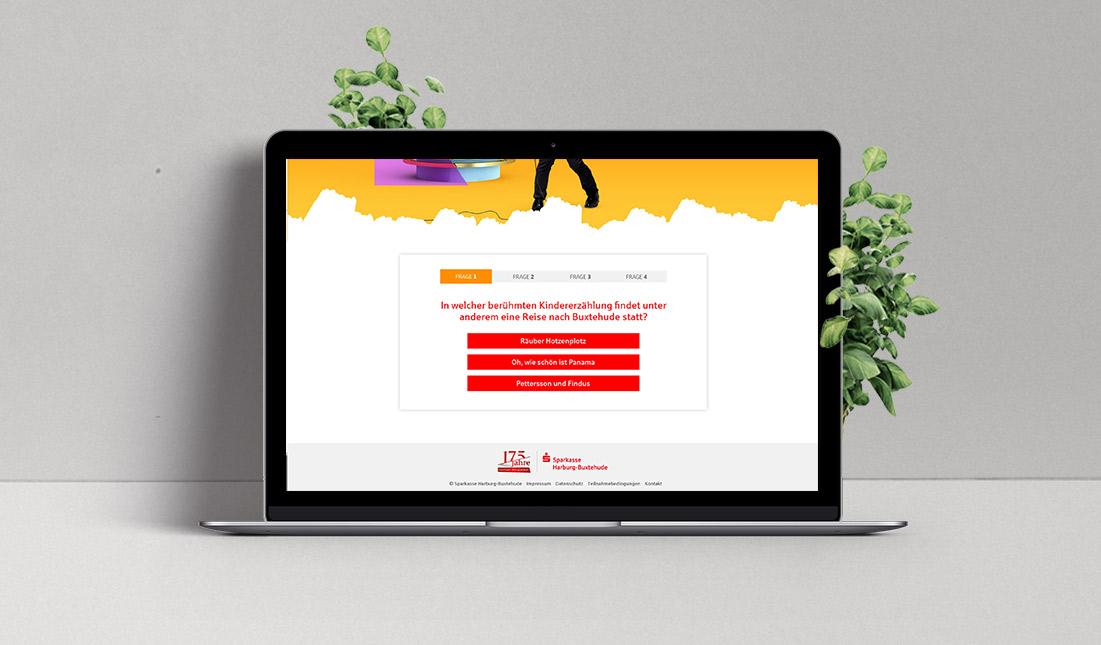Sparkasse Harburg-Buxtehude Regionales Online-Quiz