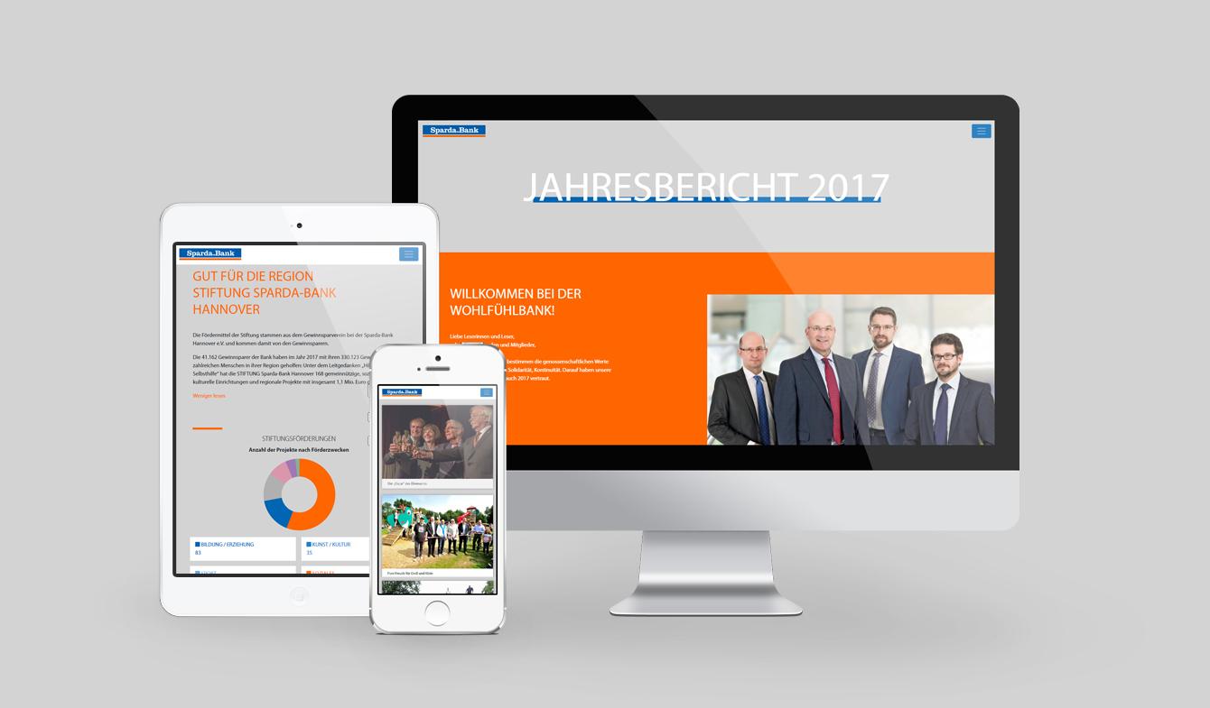 Sparda-Bank Hannover-Geschäftbericht 2017 Online