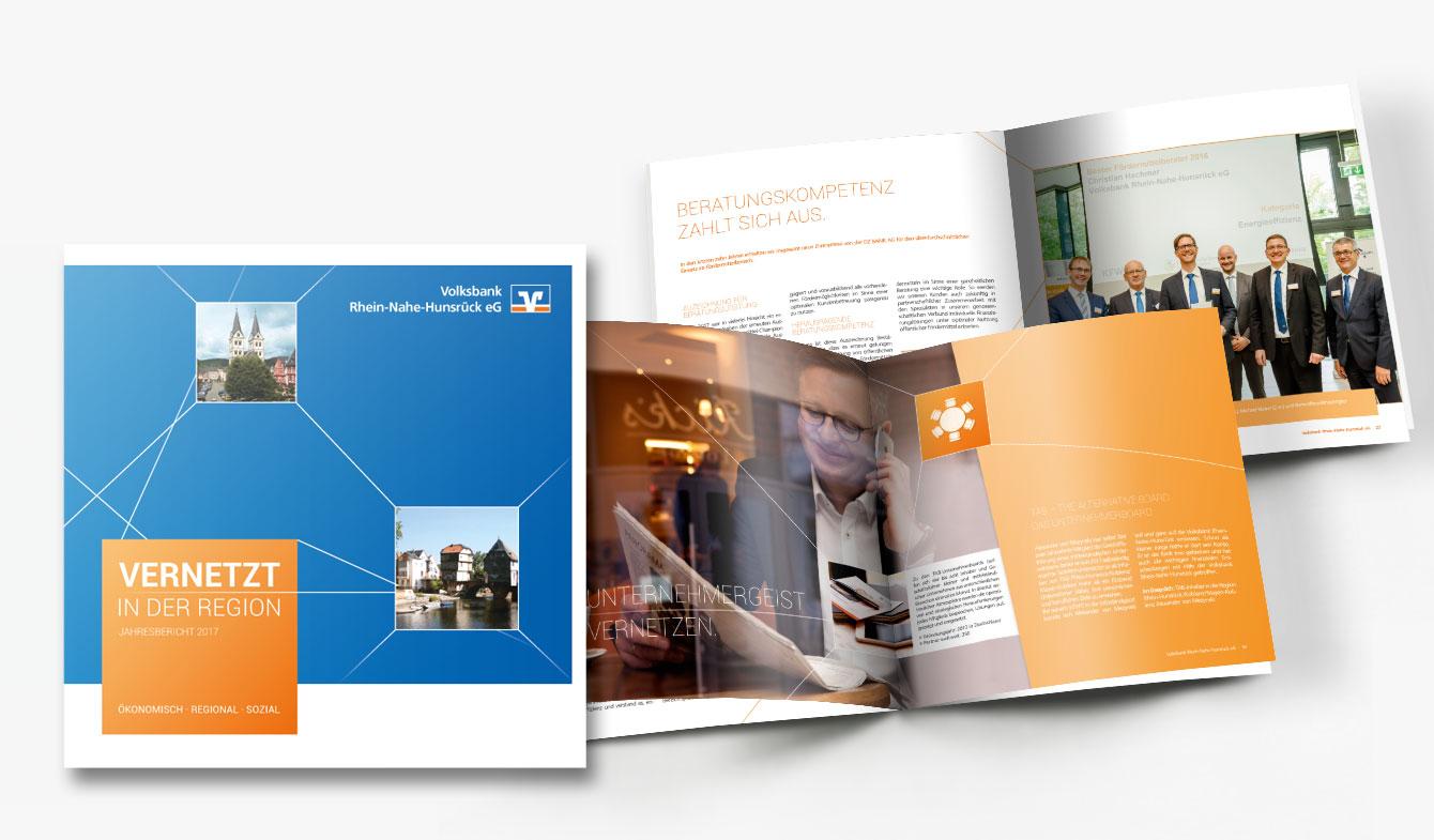 Volksbank Rhein-Nahe-Hunsrück Jahresbericht 2017