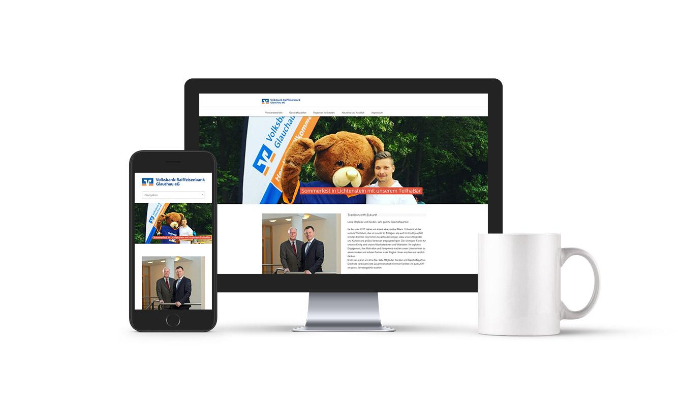 Volksbank-Raiffeisenbank Glauchau eG Online-Jahresbericht