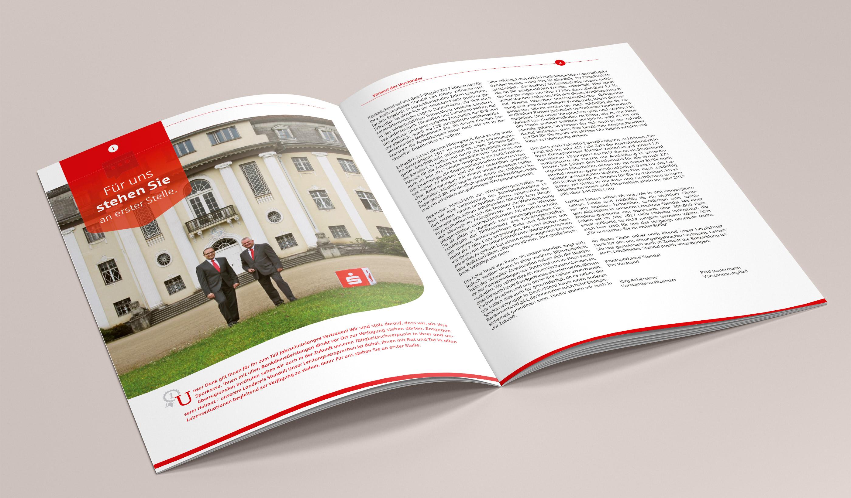 Kreissparkasse Stendal Jahresbericht 2017