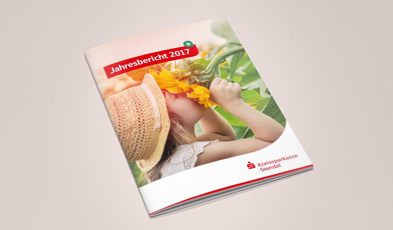 Kreissparkasse Stendal Jahresbericht 2017 Titel