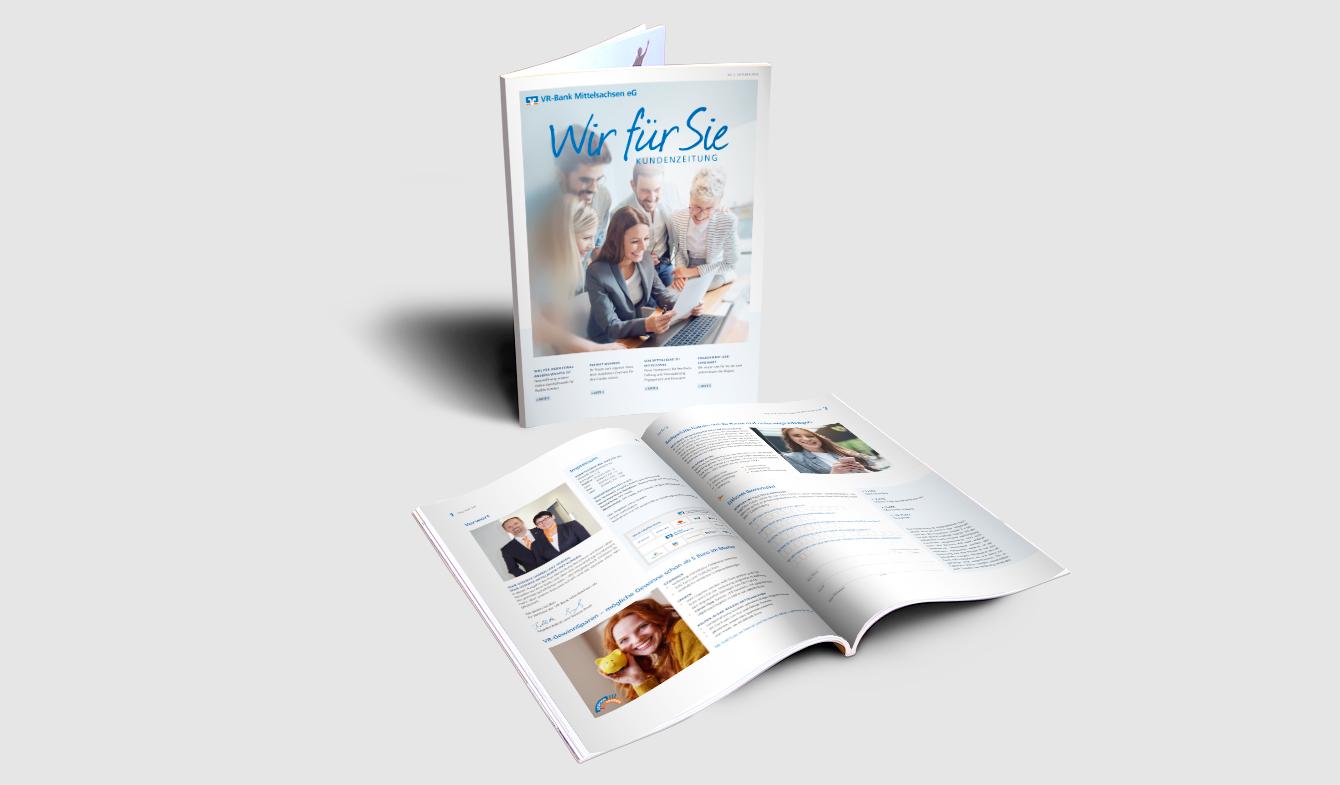 VR-Bank Mittelsachsen eG Kundenmagazin A4