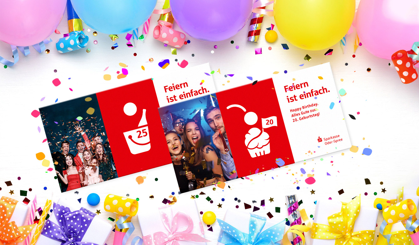 Sparkasse Oder-Spree Geburtstags-Mailing