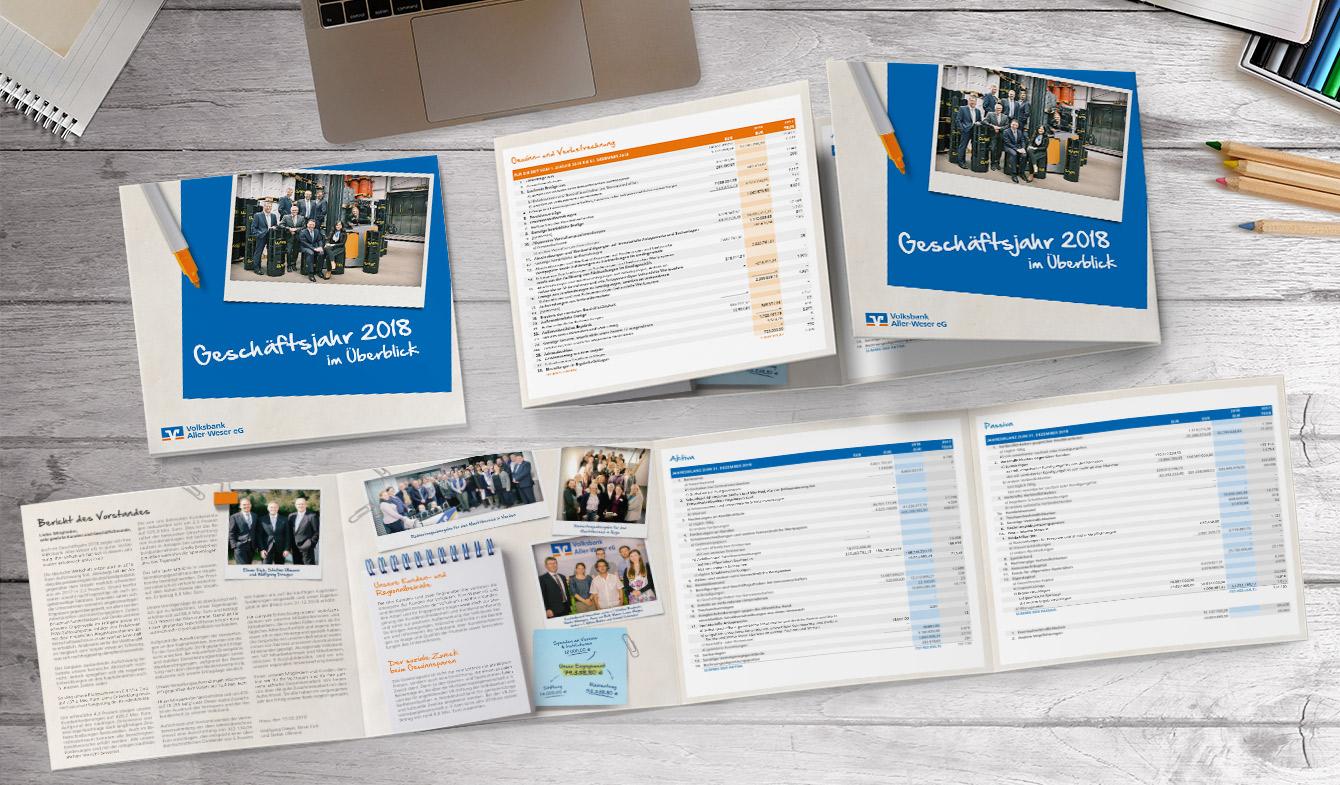 Volksbank Aller-Weser Kurzjahresbericht