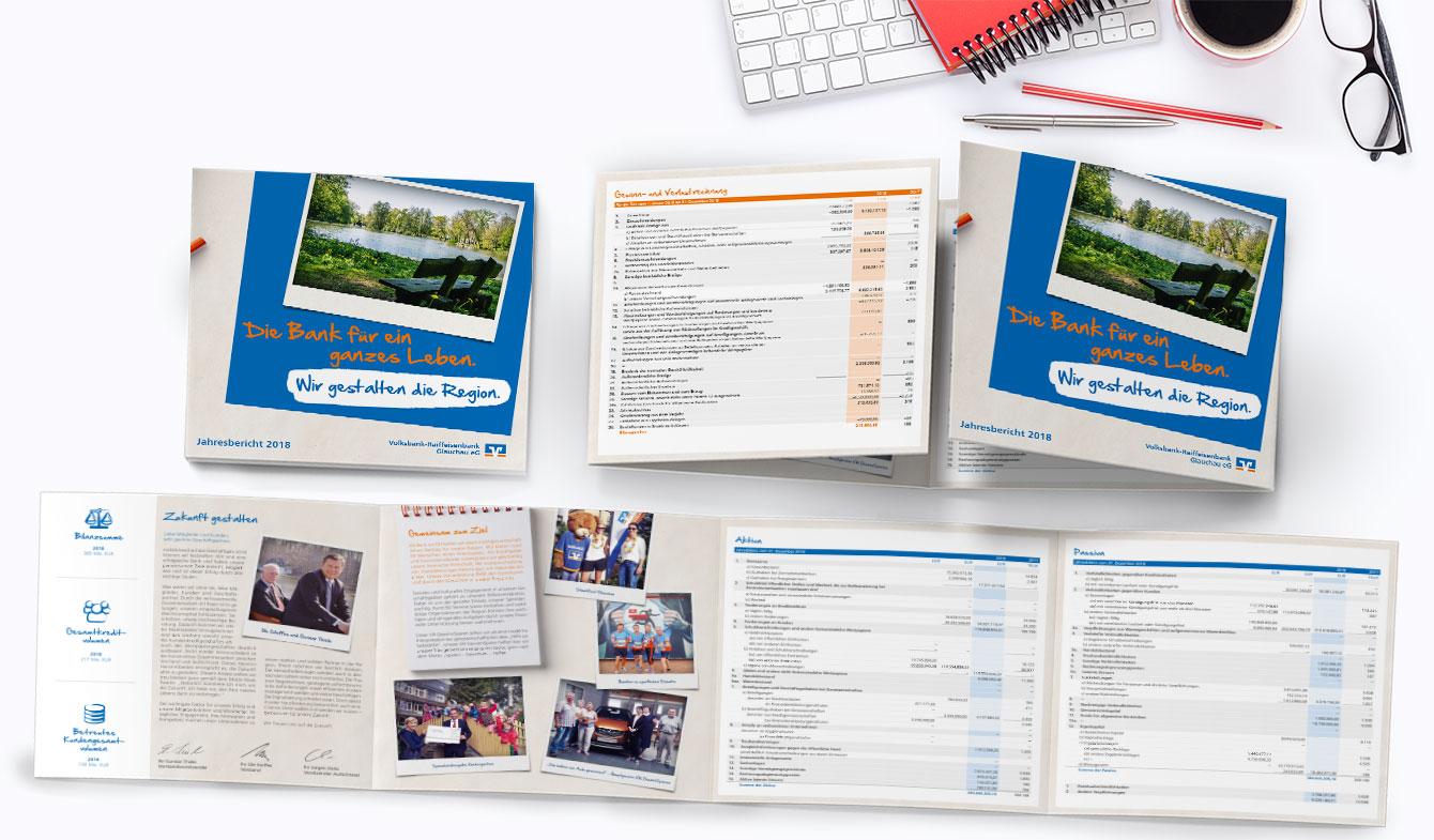 Volksbank-Raiffeisenbank Glauchau - Jahreskurzbericht 2018