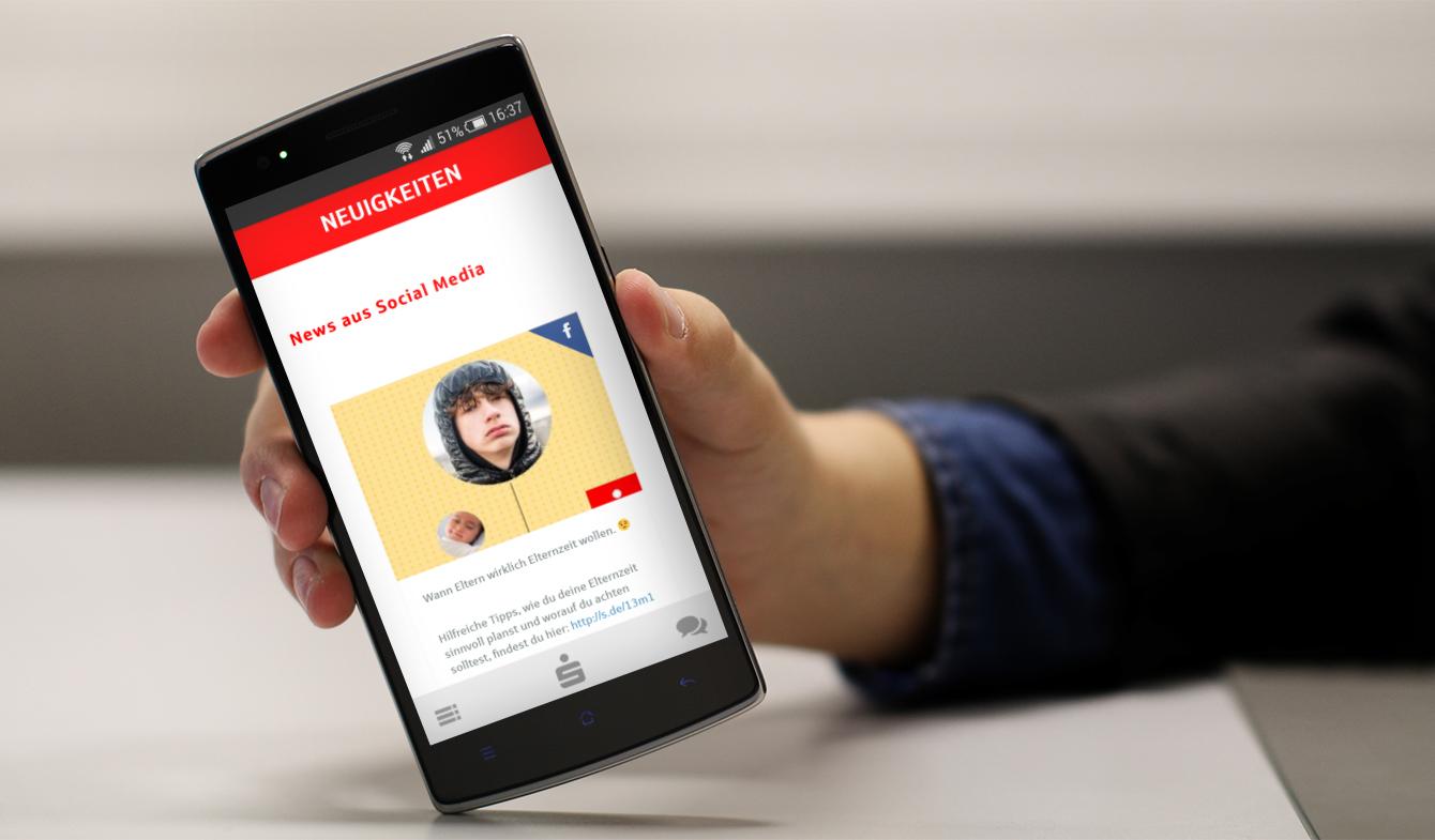 """S-Presso"" App der Sparkasse Düren"