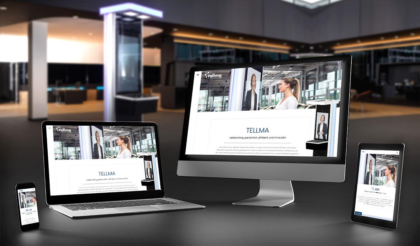 Tellma - Landingpage der VR Bank Kaufbeuren-Ostallgäu